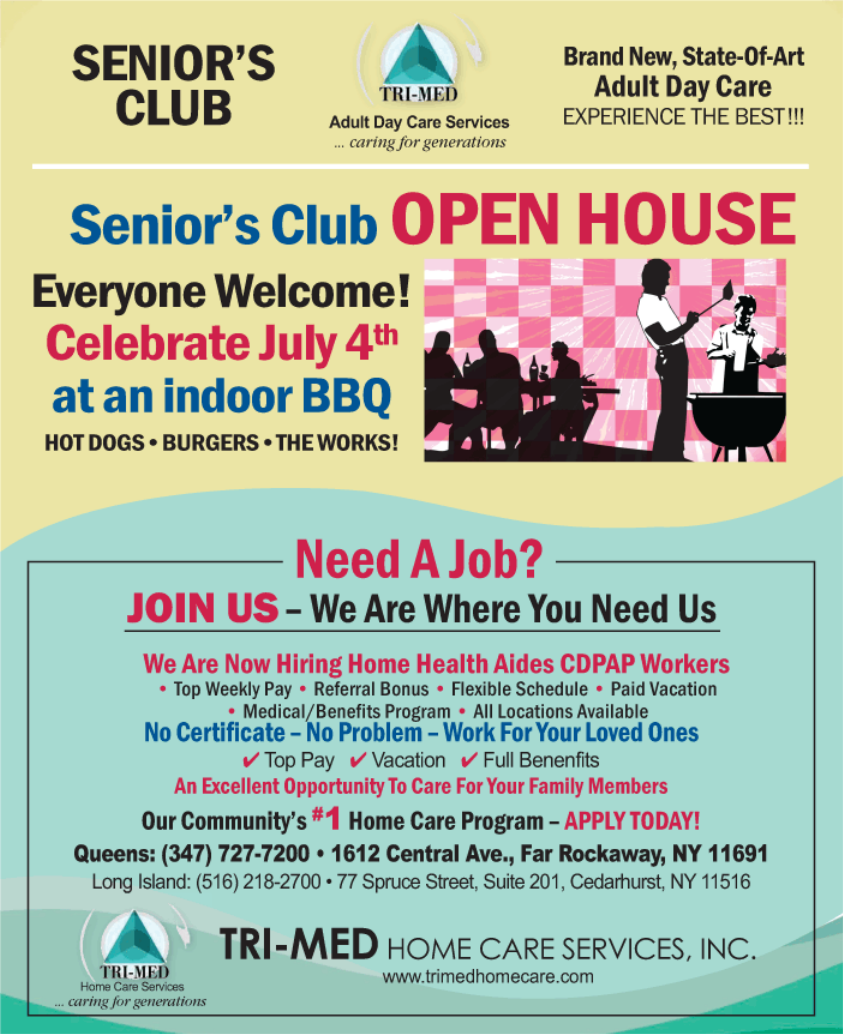 SENIORÂ'S CLUB Adult Day Care Services … caring for generations Brand New,  State-Of-Art Adult Day Care EXPERIENCE THE BEST!!! Everyone Welcome!