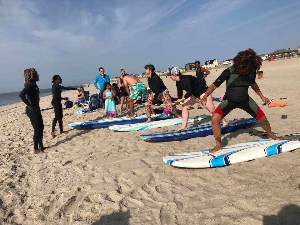 Bsa Gives Free Surfing Lessons