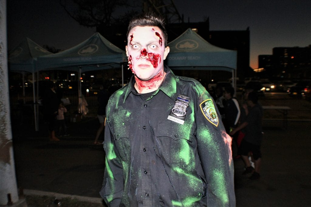 100th precinct brings the halloween thrills the wave