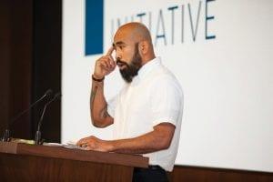 Chris speaking at JP Morgan Chase